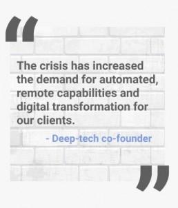 deep tech impact of the COVID-19 crisis