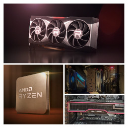 AMD Products and system Collage